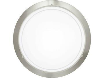 Lampada Planet da parete  in acciaio e vetro laccato Bianco