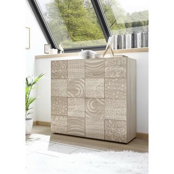 Mobile moderno ed elegante in rovere samoa. Grazie alle 2 ante potrai tenere in ordine tutti i tuoi oggetti.