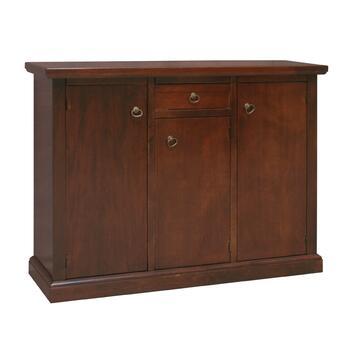 Mobile credenza in legno finitura arte povera con tutto lo spazio che serve per tenere ordinati i tuoi oggetti