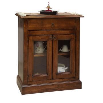 Credenze Arte Povera Marino Fa Mercato : Credenza in legno con tanto spazio per organizzare e tenere