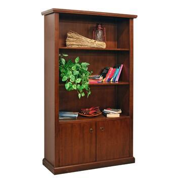 Libreria in legno dalla linea classica e intramontabile