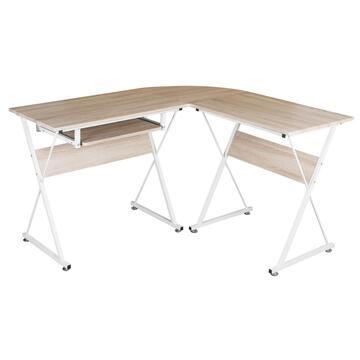 Semplice e funzionale, struttura in metallo angolare. Rendi pratico e moderno il tuo angolo ufficio!
