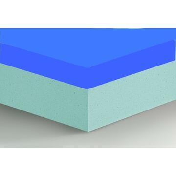 Materasso Memory Classic 2 piazze sfoderabile in poliuretano e memory 160 X 190