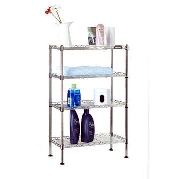 Capiente scaffale in metallo 45x25x80 con ripiani. Adatto per qualsiasi ambiente interno o esterno. Disponibile in varie misure.