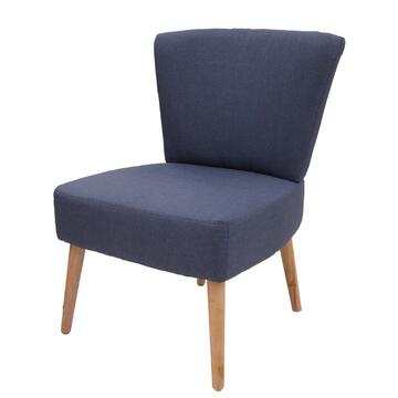 Poltrona Berta blu caratterizzata da uno stile moderno ed essenziale,ottima struttura e comoditÓ.