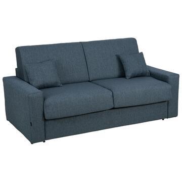Divano letto Pasha 2 posti Blu, seduta 140
