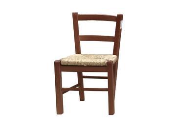 Sedia BABY noce per bambini,modello classico. Comoda e stabile,struttura in legno.