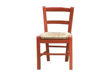 Sedia BABY ciliegio per bambini,modello classico. Comoda e stabile,struttura in legno.