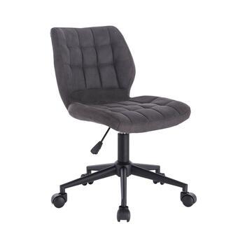 Sedia Vinty nera da ufficio con ruote elegante e confortevole!