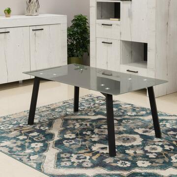 Tavolino Perk Grigio 110 X 60, altezza 45