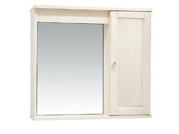 Elegante specchiera ad anta singola! In stile bianco decapè.