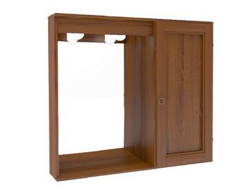 Elegante specchiera ad anta singola in legno!