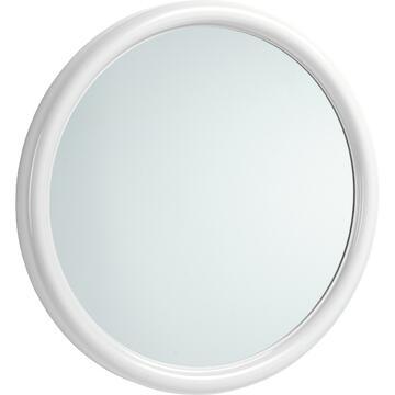 Specchio per bagno Bianco, diametro 50
