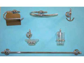 Set bagno composto da 6 accessori con insertiin...