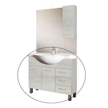 Mobile bagno Gaia Quercia con lavabo