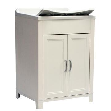 Lavatoio in resina 60x50 di facile montaggio,perfetto per ambienti esterni. Struttura in plastica, funzionale e capiente