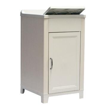 Lavatoio in resina 45x50 di facile montaggio,perfetto per ambienti esterni. Struttura in plastica, funzionale e capiente