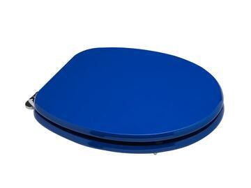 Copriwater colorato blu elettrico.
