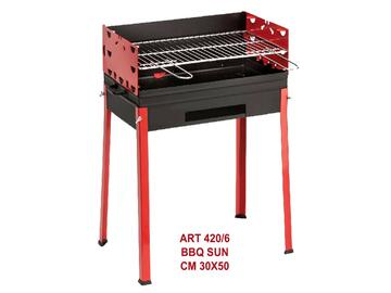 Barbeque Sun a carbone 30x50