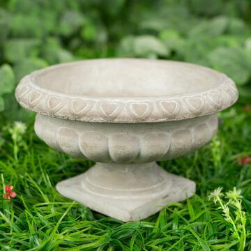 Vaso a coppa Stone, 24 cm.