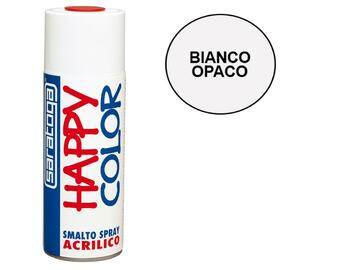 Happy Color 400 ml bianco opaco
