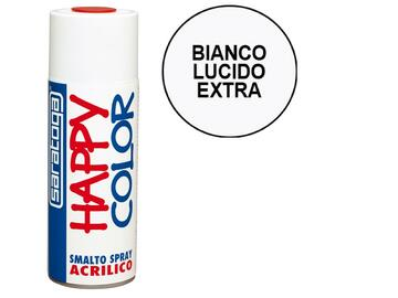 Happy Color 400 ml bianco lucido