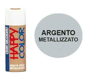 Happy Color 400 ml argento