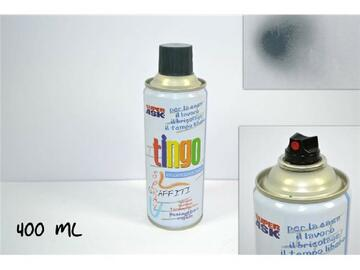 Bomboletta di vernice spray, da 400 ml, color grigio.