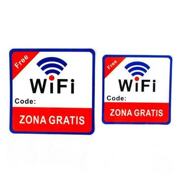 2 Cartelli WiFi Gratis