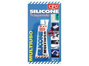 Silicone antimuffa trasparente 60 ml