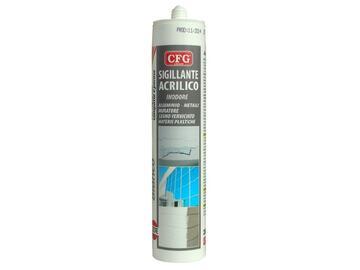 Silicone acrilico bianco 280 ml