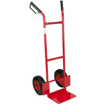 Carrello trasporto universale con ruote pneumatiche, in alluminio