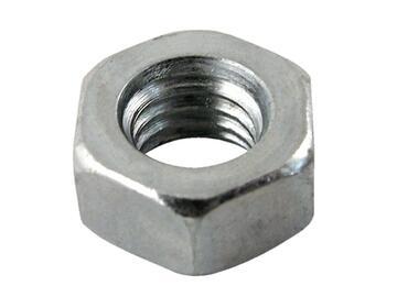 20 Dadi Esagonali Zinco 6 mm