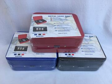 Cassetta di sicurezza portavalori cm.20x16 con apertura a codice