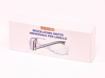 Didy Rubinetto Miscelatore Universale Dritto per Lavello