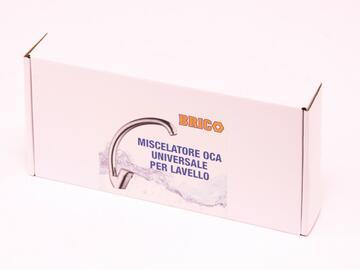 Didy Rubinetto Miscelatore Universale Oca per Lavello