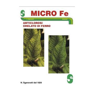 Micro Fe contro l'ingiallimento internervale delle foglie 100 gr