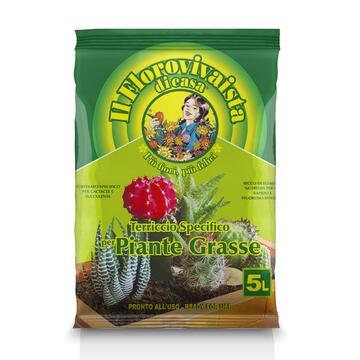 Terriccio per piante grasse 5 Lt