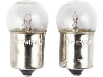 Lampadine per targa 12V 5W.