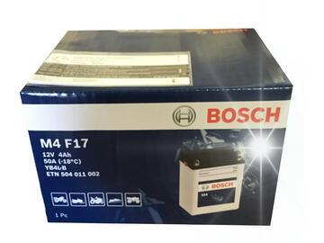 Batteria Bosch M4F17 4AH DX.