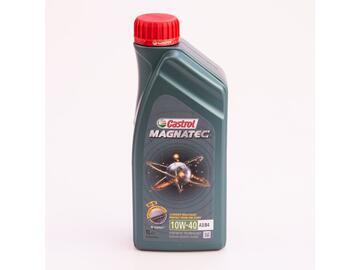Olio motore Castrol Magnatec 10w40, auto benzina, da 1 litro.