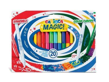 Confezione 20 pennarelli Carioca Magic