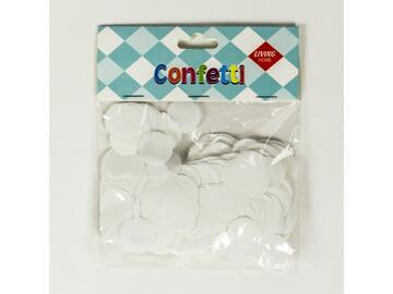 Confetti metal Bianco
