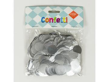 Confetti metal Silver