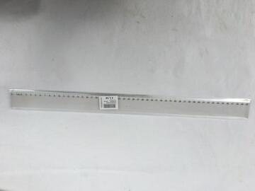 Righello trasparente 50 cm.