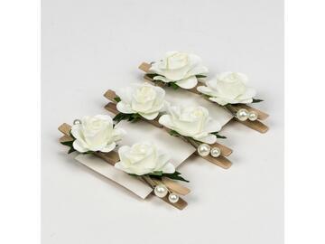 6 gardenia clip