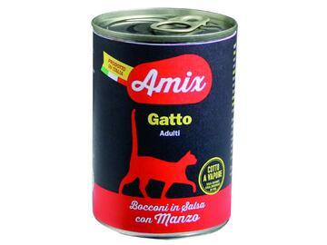 Amix Cat 400 gr manzo cibo per gatti