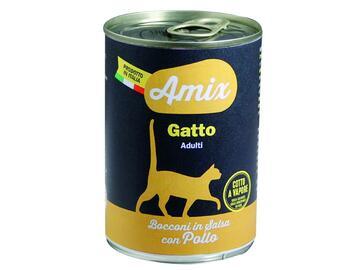 Amix Cat 400 gr pollo cibo per gatti