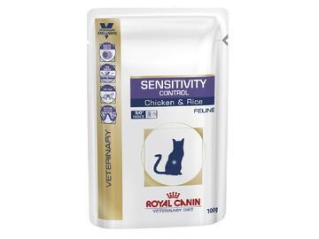 ROYAL CAT 100 GR. SENSITIVITY CONTROL, RISO E POLLO