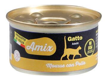 Amix Cat Mousse Pollo  cibo per gatti